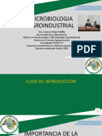 0VA. INTRODUCCION   MICROBIOLOGIA AGROINDUSTRIAL