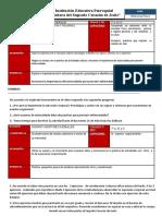 ACTV de reforzamiento. Nº 4-EF II Bim 2ºGRADO 2020