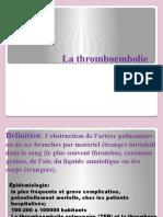 Cours 09 Le thromboembolisme pulmonaire.pptx
