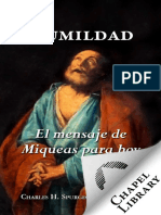Humildad_ el mensaje de Miqueas para hoy (Spanish Edition)
