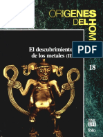 Origenes Del Hombre 18 El Descubrimiento de Los Metales II Folio 1993