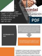 LIQUIDACIÓN DE SOCIEDADES 27.12.19