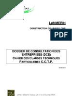 Cahier Des Clauses Techniques