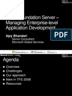 Visual Studio Team System 2008 Team Foundation Server - Manage Enterprise - Level Application Develop Men