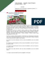 Atividade - português 2ª série