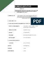 0.- Pavimentacion Fortuna - Resumen Ejecutivo Final