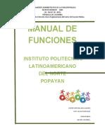 MANUAL DE FUNCIONES plitecnico