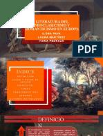 Literatura del NEOCLASICISMO Y ROMANTICISMO EN EUROPA.pptx