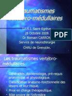 traumatisme vertebro-medullaire
