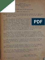 Executive Order No. 54