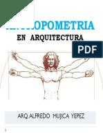 Antropometría en Arquitectura