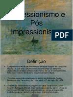 Arte- Impressionismo e Pós Impressionismo