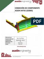 INFORME DE REPARACIÓN DE BULLDOZER (DZ005)
