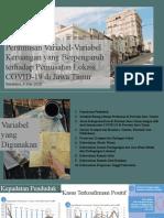 200628-Analisa Variabel2 Keruangan Berpengaruh thd Pemusatan COVID19 di Jatim