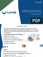 1.-GESTIÓN DE PROYECTOS CON PRIMAVERA P6 - Taller 310320