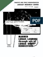 Manned Lunar Landing Through Use of Lunar Orbit Rendezvous