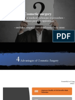 Disadvantages of Cosmetic Surgery