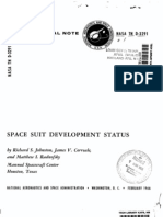 Space Suit Development Status