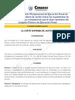 ACUERDO NO. 28-2015 JUZGADO SEGUNDO PLURIPERSONAL DE EJECUCION PENAL