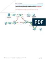 8.2.4.14 Packet Tracer - Troubleshooting Enterprise Networks 3 Instructions - ILM