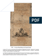 1776 - Taylor and Skinner - Road Map of Kintyre Road - Including Droving and Coach Notes