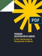 Recuperación de Barrios_II. II Foro Internacional de Recuperación de Barrios.pdf