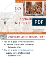 Chapter 8 Application The Costs of Taxation