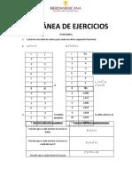 MISCELÁNEA DE EJERCICIOS