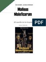 El Martillo de Las Brujas (Malleus Malefic Arum)