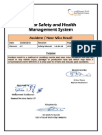 4.7 Accident  Near Miss Recall