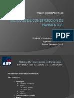 Clase 08 - METODOS DE CONSTRUCCION DE PAVIMENTOS rigido v2