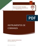 Instrumentos de cobranza