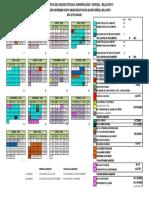Calendario Escolar covid 20-21