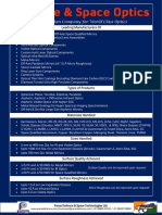 Defence Space Optics Brochure