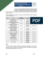 Anexo Nº 13 - Matriz Capacitación Obligatoria