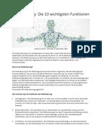 Methylierung - Die 10 wichtigsten Funktionen