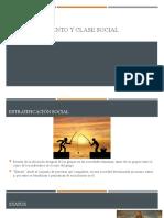 Casta, Estamento y Clase Social