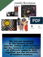 Lecture 2-The Scientific Revolution