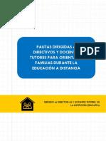 3. Pautas para orientar a las familias durante la educación a distancia (1)