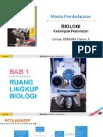 STD BAB 1 Ruang Lingkup Biologi DAPratiwi X
