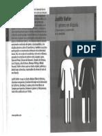Prefacio a El género en disputa - Judith Butler