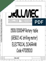 1500 - 2000 HP ROTARY TABLE (47005010)