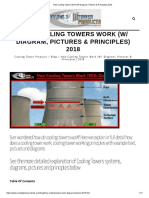 How Cooling Towers Work (W_ Diagram, Pictures & Principles) 2018