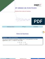 AA1 Définition d'une suite de fonctions