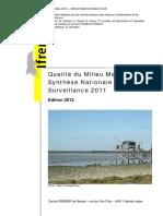Qualité du milieu marin littoral synthèse nationale de surveillance 2011.pdf