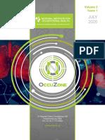 NIOH OccuZone Vol2 Issue 1 July 2020