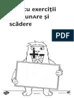 Adunari si scaderi - Fise de lucru.docx