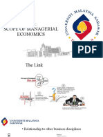 LU1 - Scope of Managerial Economics