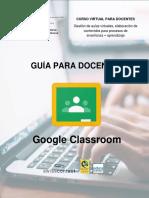 Manejo de Google Classroom