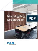 Brochure, Mains Lighting Design Guide